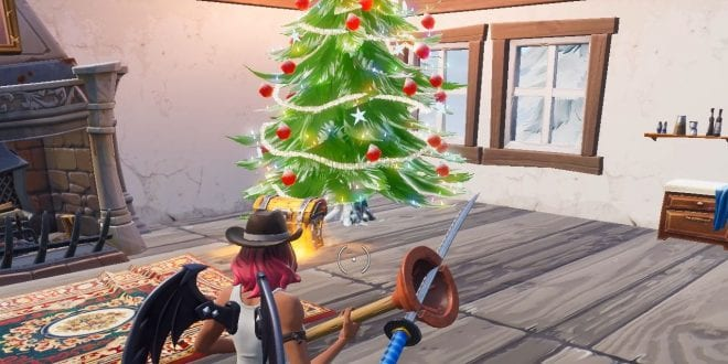Fortnite Season 7 Where Is The Christmas Tree House Located