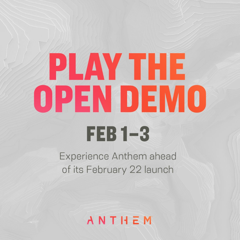Photo of Anthem Open Demo February 1-February 3