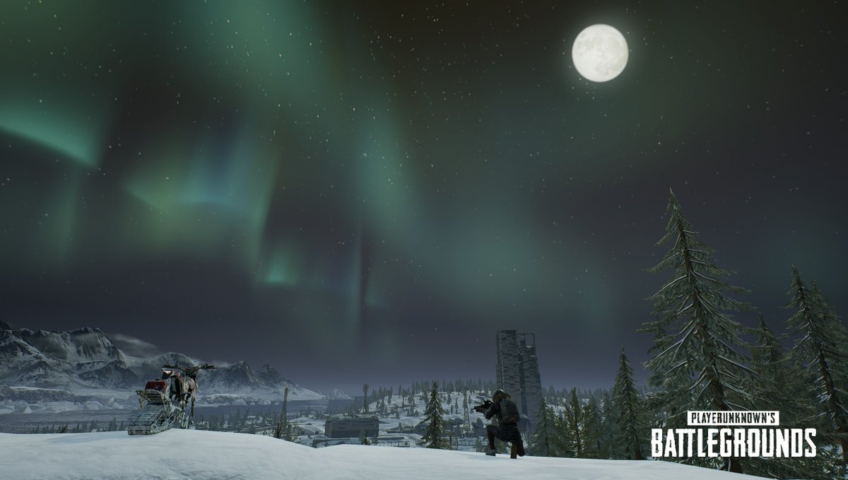 PUBG vikendi moonlight weather