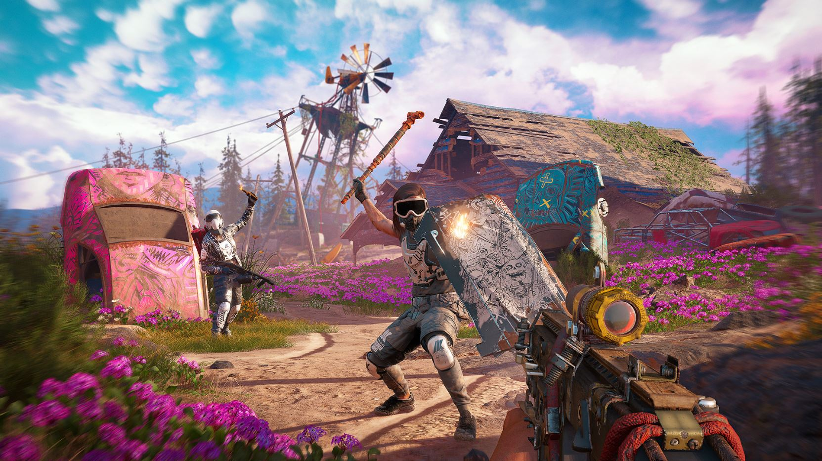 Photo of New Dawn offers the same as Far Cry 5, plus something extra