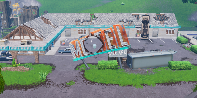 Search chests or ammo boxes at a motel or an RV park – Fortnite Guide