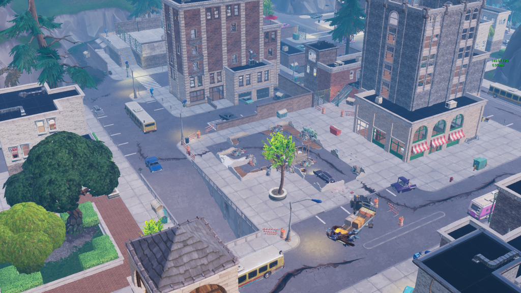 Tilted Towers And Retail Row To Be Destroyed With The Loot