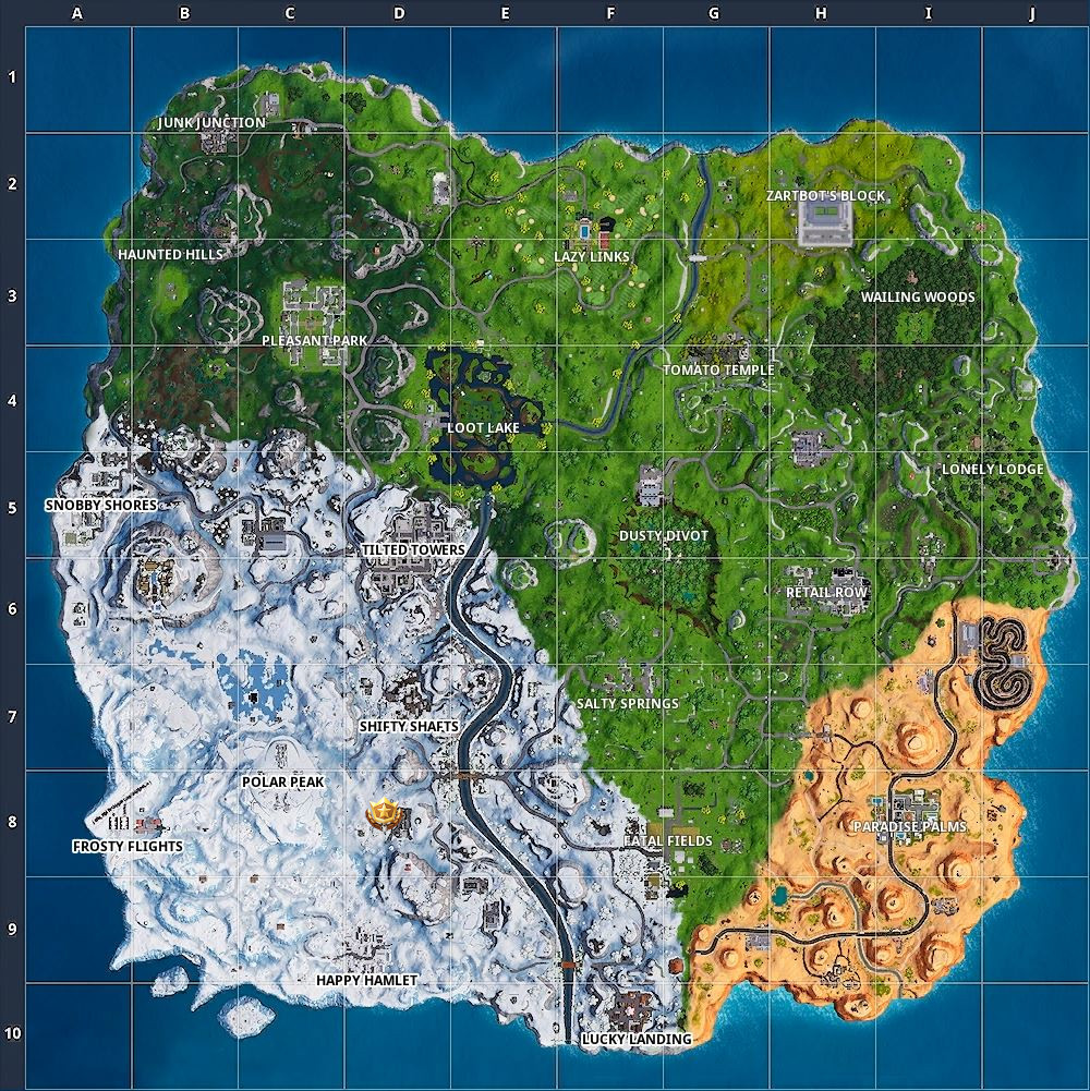 Fortnite X-4 Stormwing Timed Trial Challenge Locations Season 7, Week 9