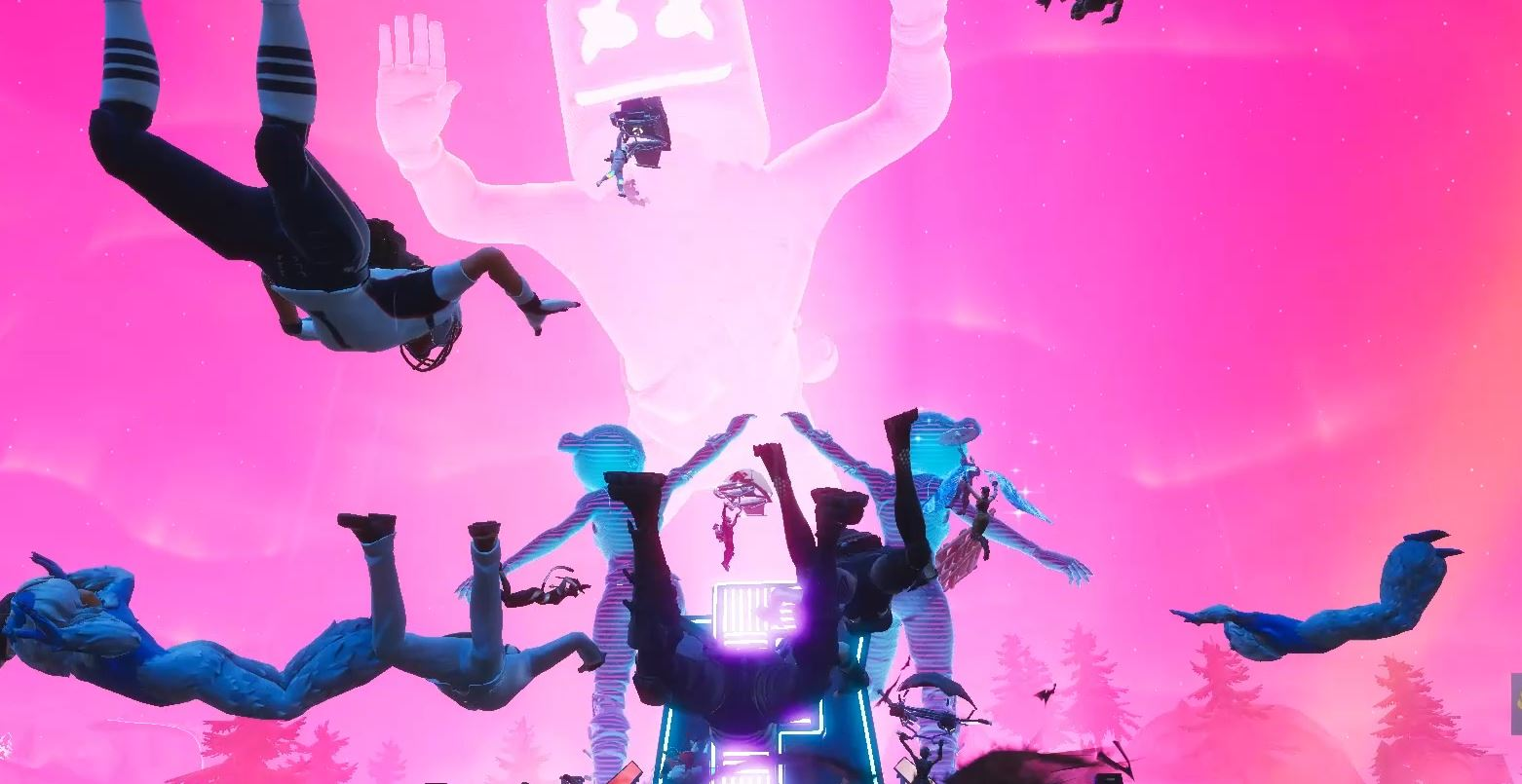 Photo of Epic Games finally discovered how many players attended Marshmello's Fortnite Concert