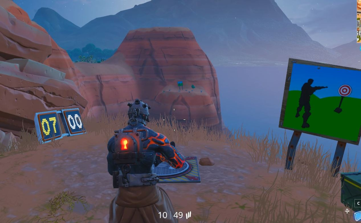 Fortnite Week 10 Season 7 Shooting Gallery Challenge Locations
