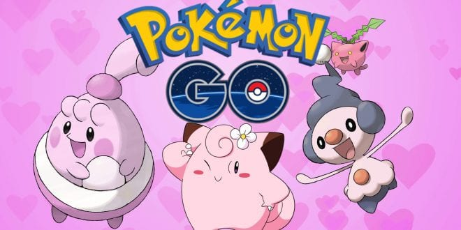 pokemon go valentines event february 2019