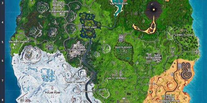 - fortnite map season 1 vs season 8