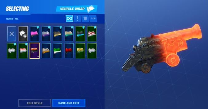 Photo of The new Fortnite 8.10 update includes a fiery wrap