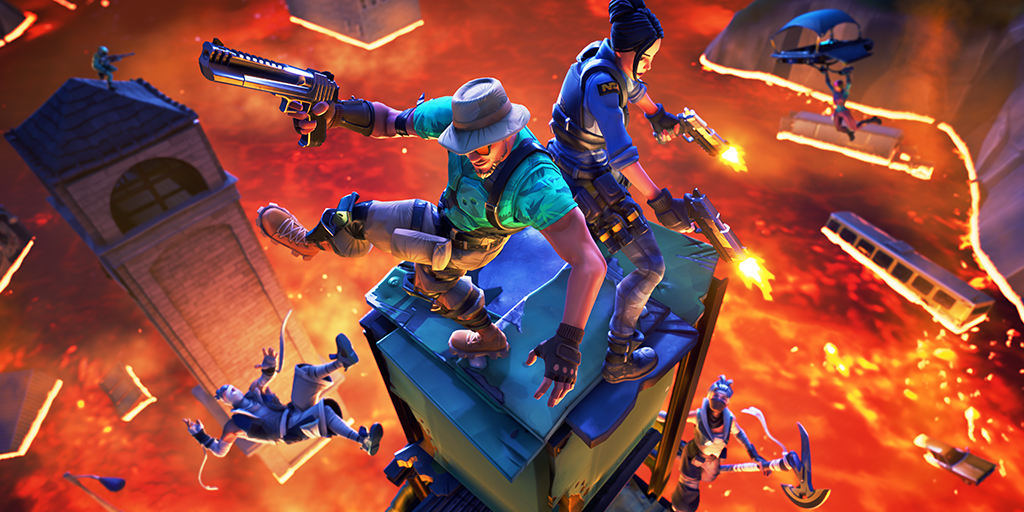 Photo of Fortnite's retrieving the Floor is Lava LTM