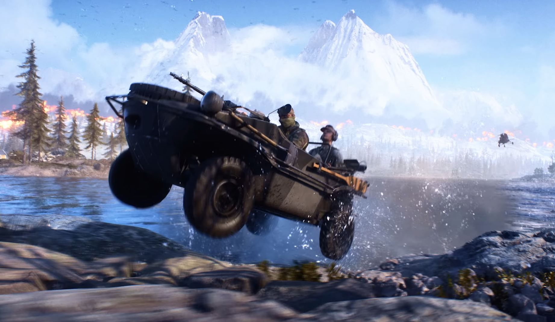 Photo of Battlefield V's Firestorm will include amphibious vehicles