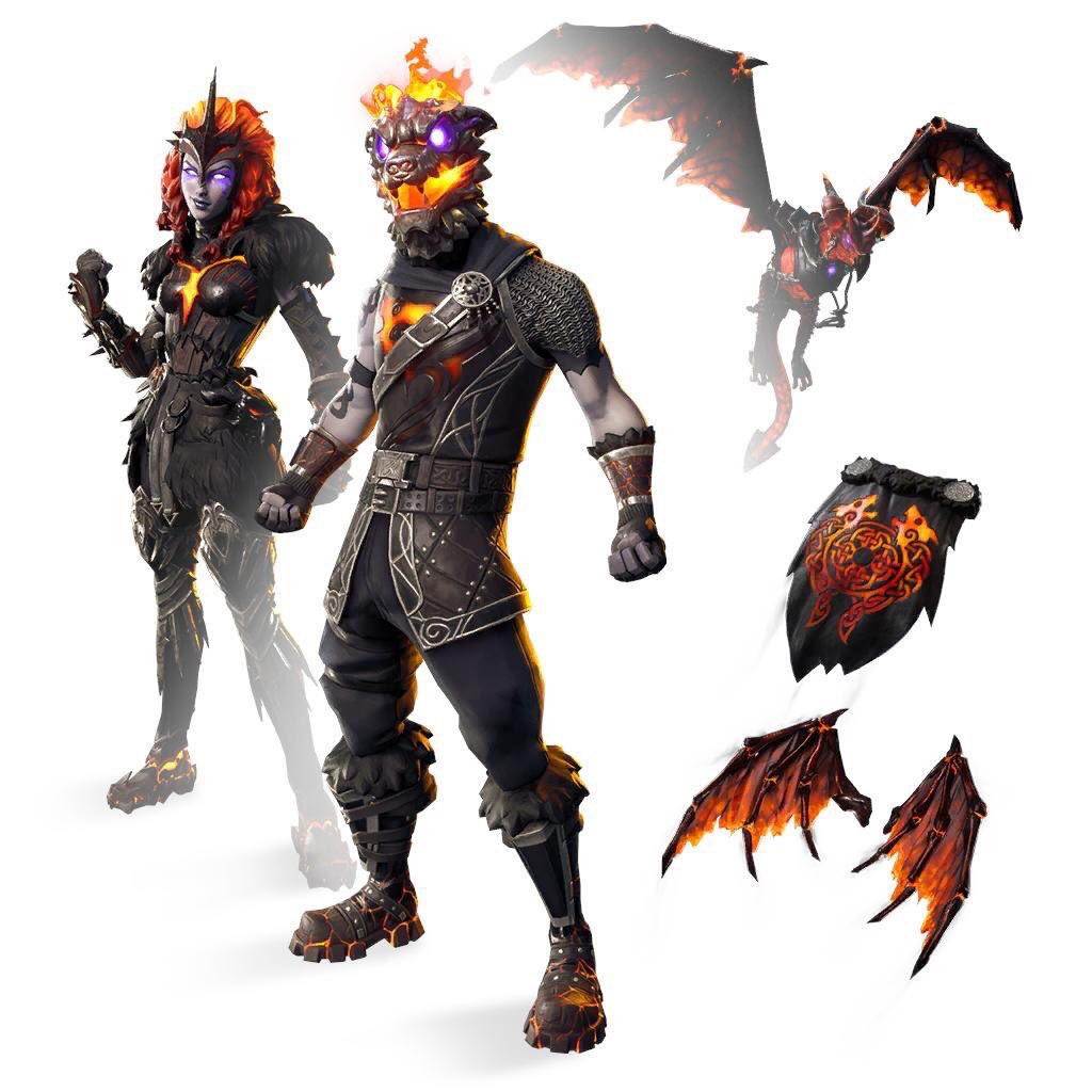 Photo of Fortnite 8.20 may include Lava Legends, Molten Skins incoming