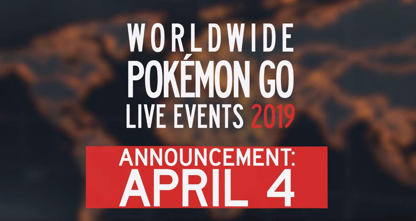 Photo of Pokemon Go Worldwide Announcement of Live Events for 2019