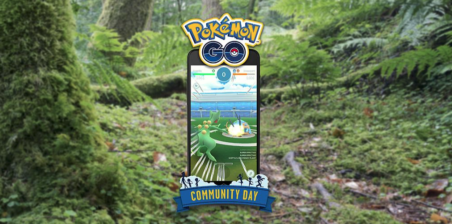 Photo of Pokemon Go March Community Day Event Details, Treecko 100% Perfect IV CP Chart Included