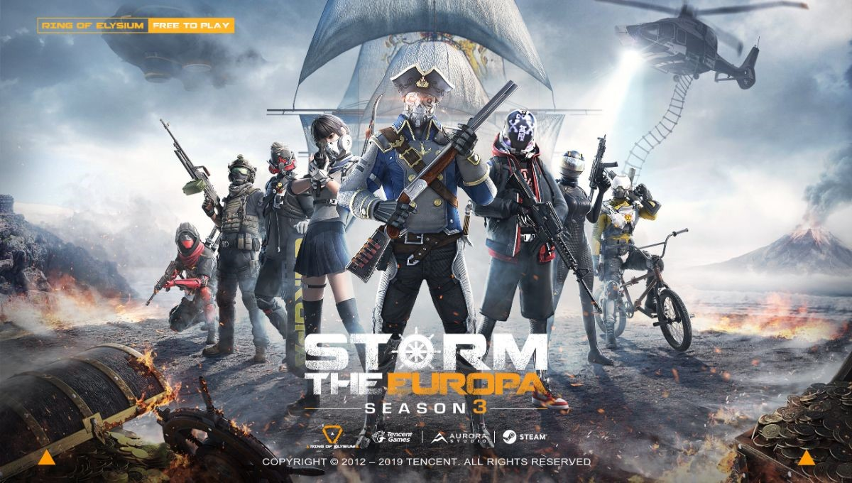 Photo of Ring of Elysium launches Season 3 Adventurer Pass, Pirate-Themed Mode Incoming