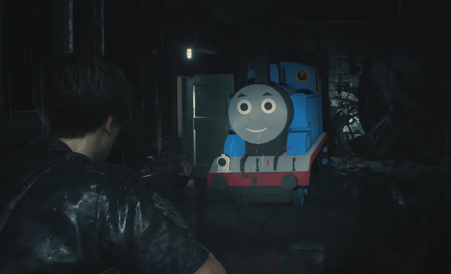 Photo of Resident Evil 2 PC Mod Makes Thomas The Tank Engine a new Tyrant