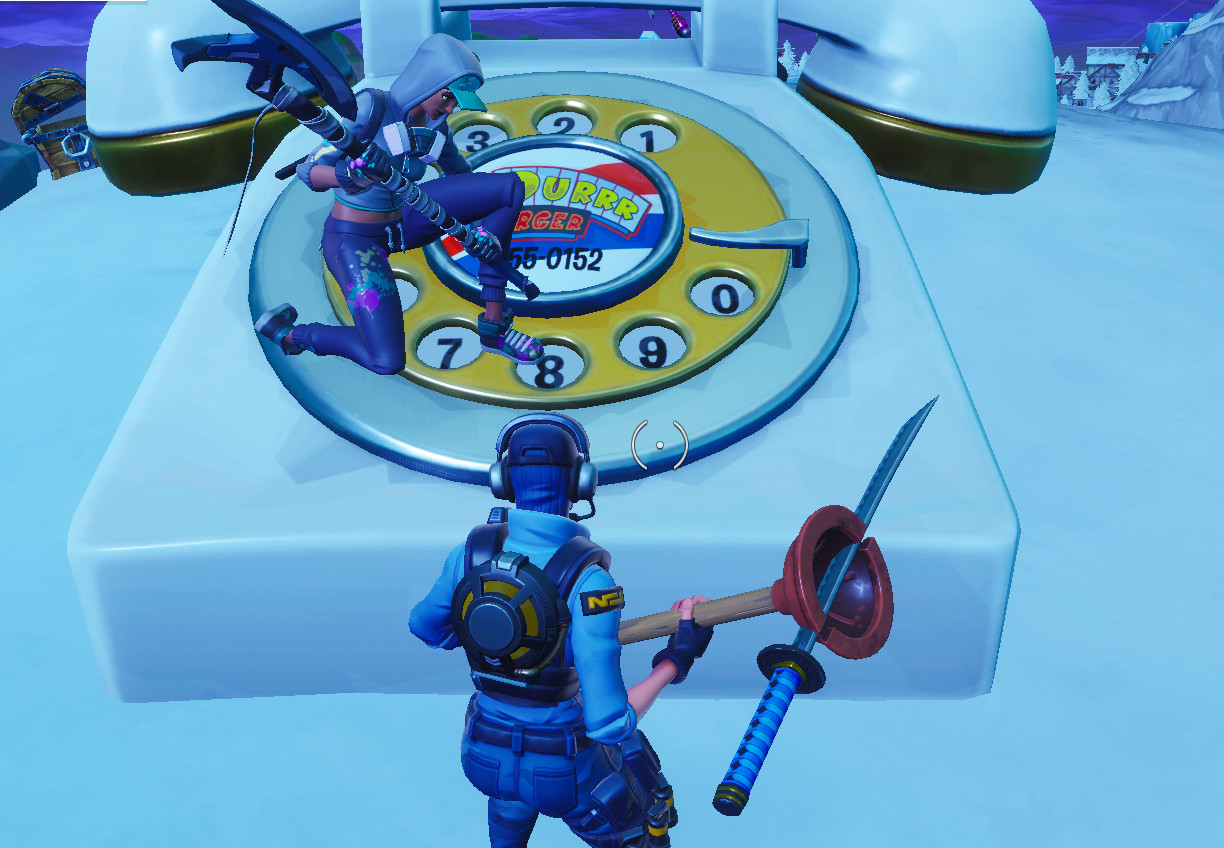 Photo of Fortnite: Where and How to Dial the Durrr Burger number on the big telephone west of Fatal Fields