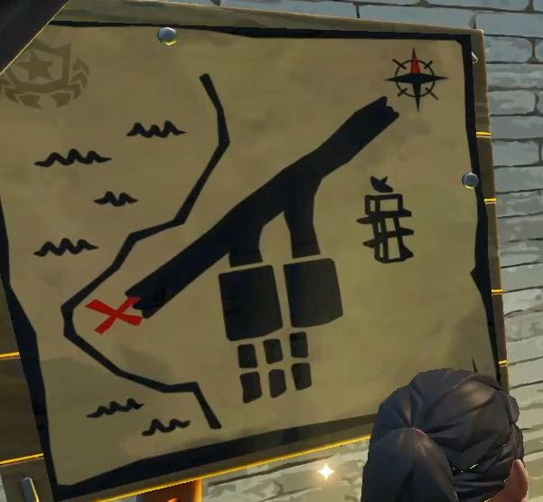 Photo of Fortnite: Where to Search the X on the Treasure Map Signpost in Paradise Palms