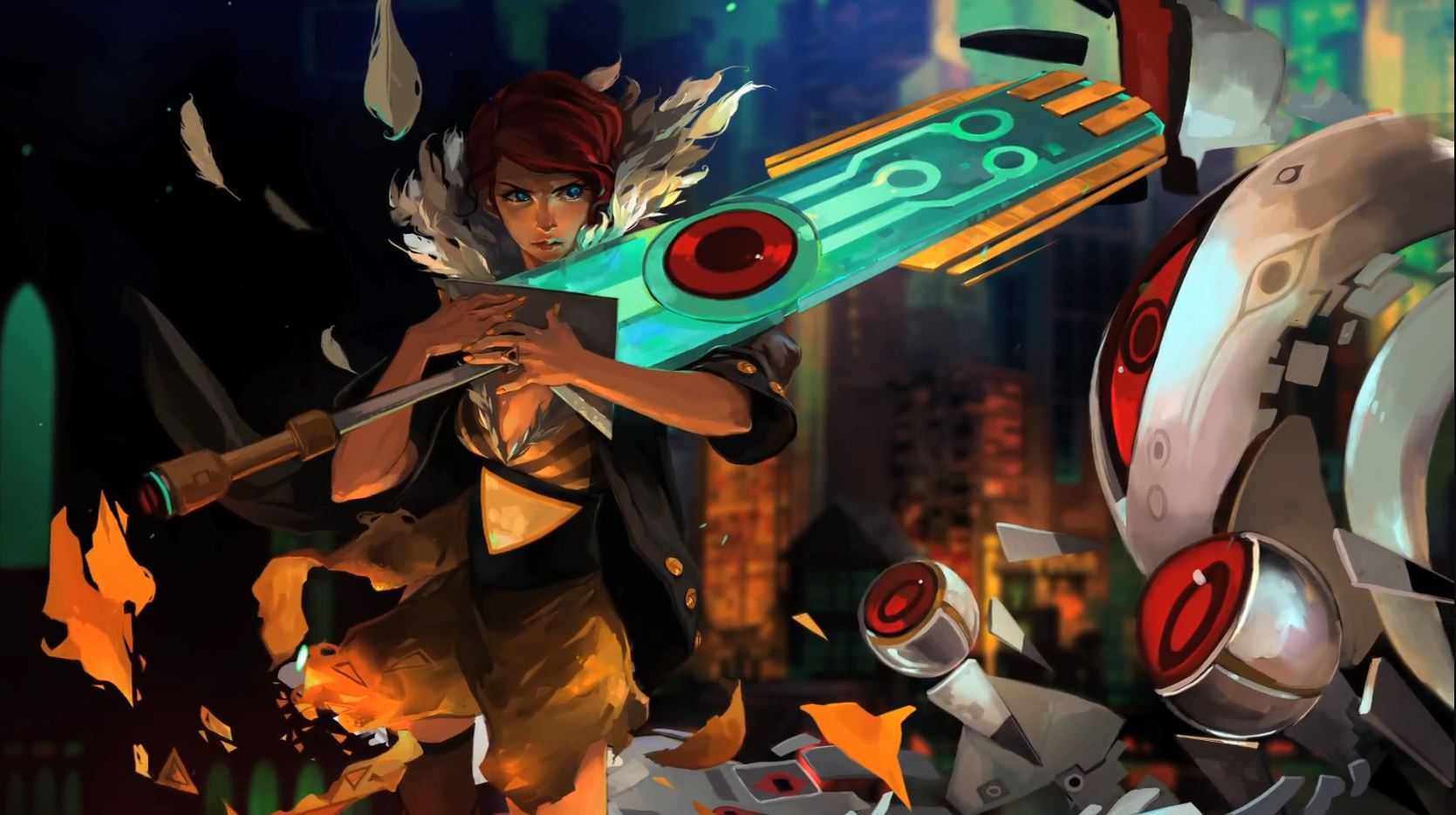 Photo of Transistor is a Sci-Fi Action RPG available on the Epic Games Store for Free