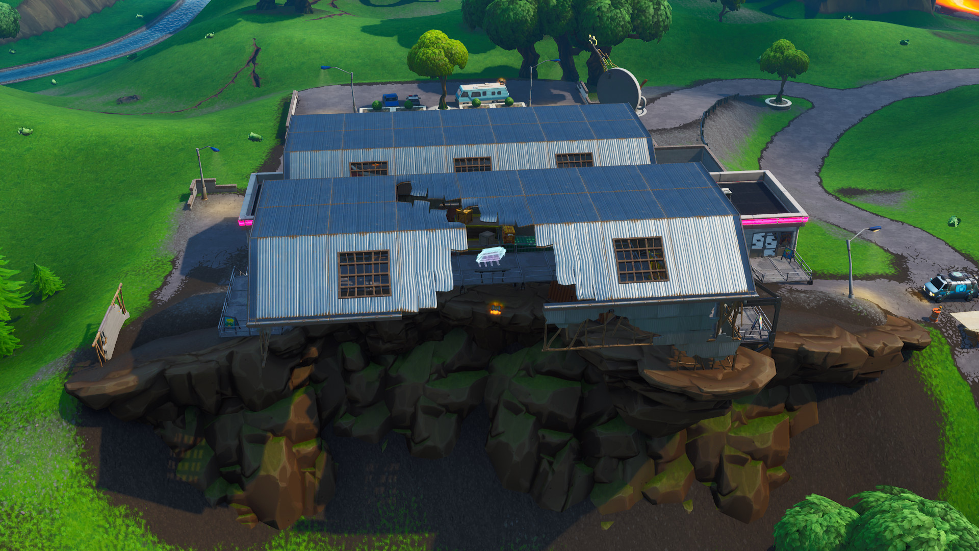 Photo of Fortnite: Fortbyte #31 Found at a Meteor Crate Overlook – Location