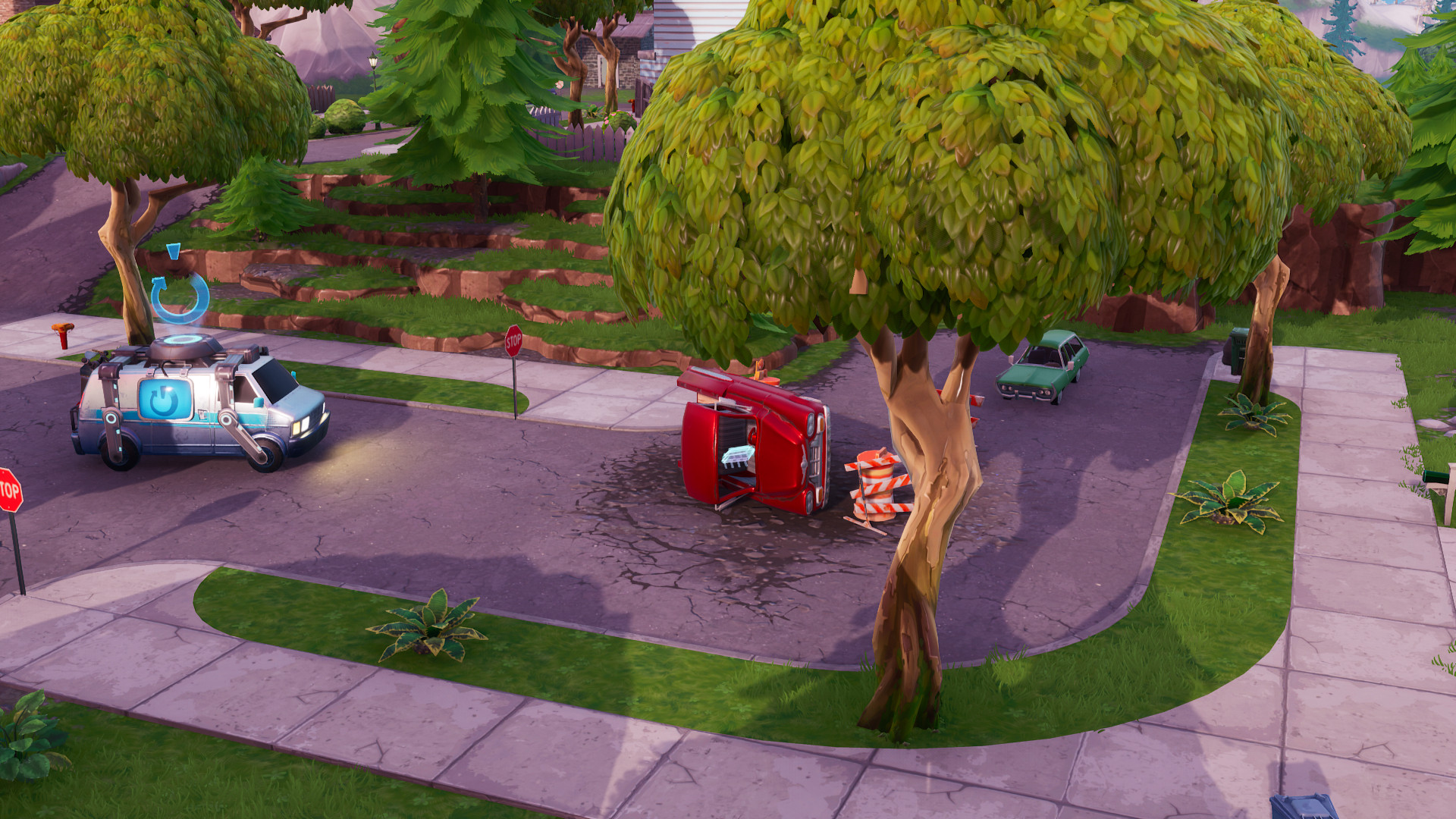 Photo of Fortnite's Fortbyte #72 Found Within Salty Springs