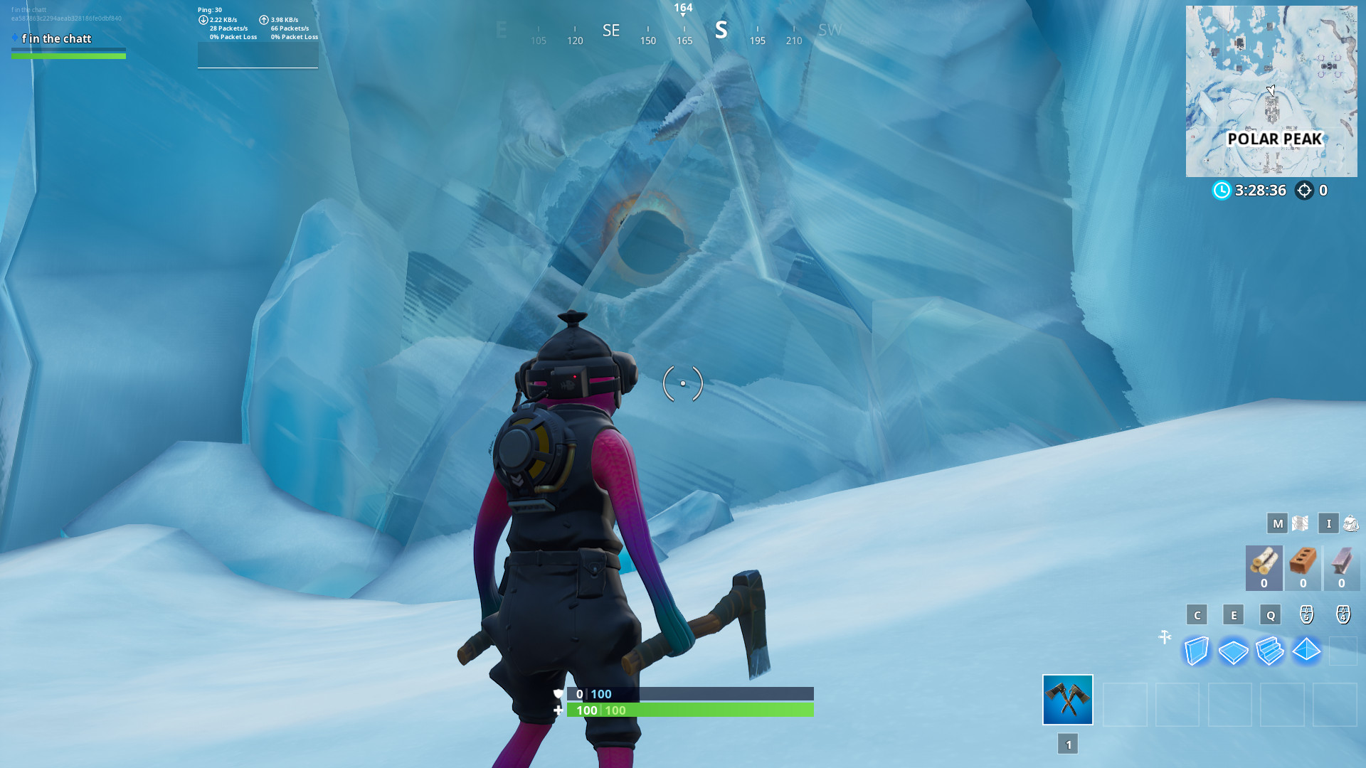 Photo of Fortnite's Polar Peak Monster is swimming around the island