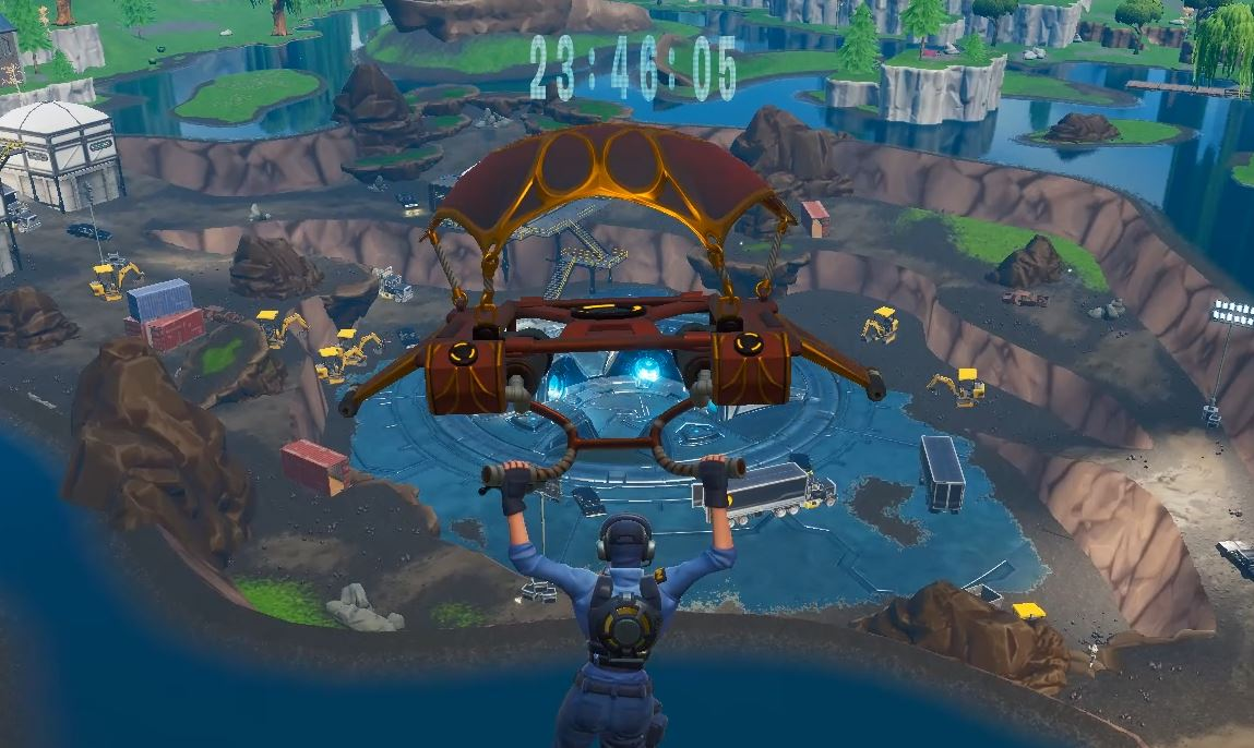 Photo of The Unvaulting Countdown over the Vault in Loot Lake has officially begun