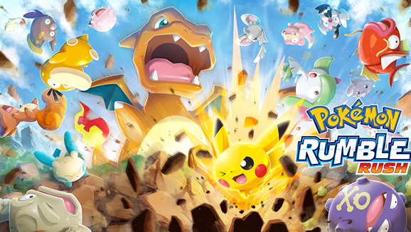 Photo of Pokemon Rumble Rush Mobile Game Gears Special Items
