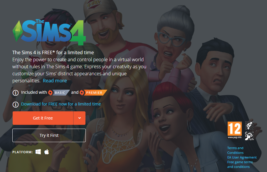 Photo of The Sims 4 Game is Free on PC Origin