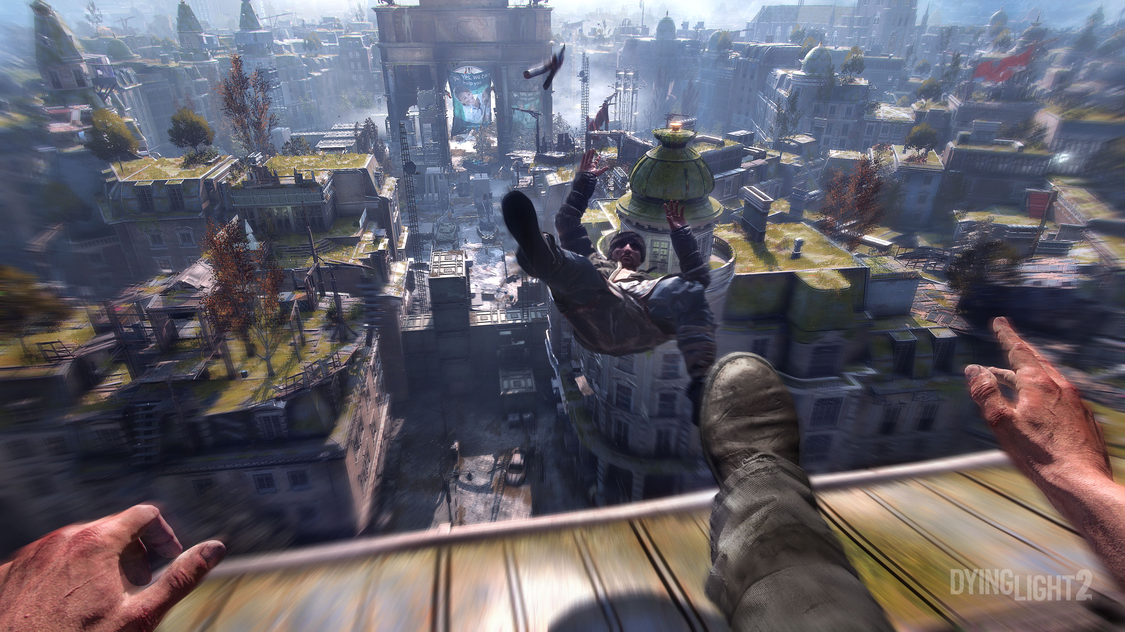 Photo of Square Enix's Dying Light 2 Gameplay Trailer Showcased Amazing Parkour Features