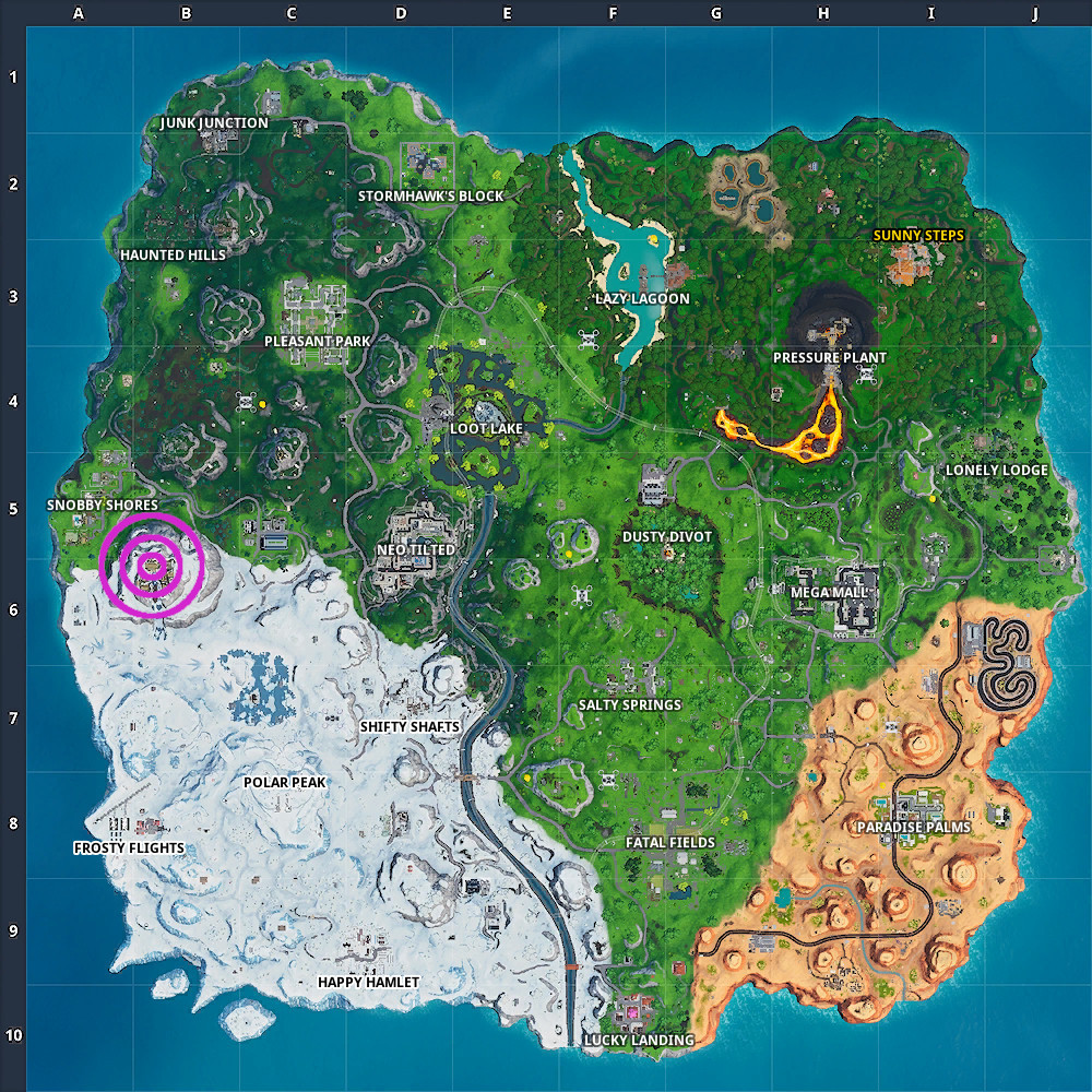 Fortnite Fortbyte #98 Found within a Viking Longhouse