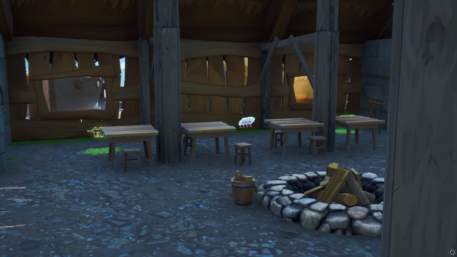 Photo of Fortnite Fortbyte #98 Found within a Viking Longhouse