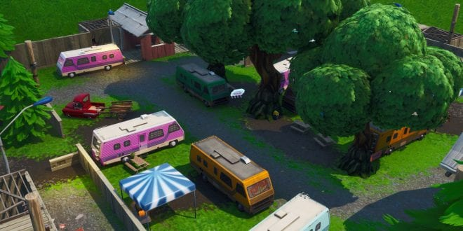 Fortbyte #14 Found within an RV park