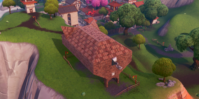 Fortnite Fortbyte #69 Found Inside A Stone Pig Building
