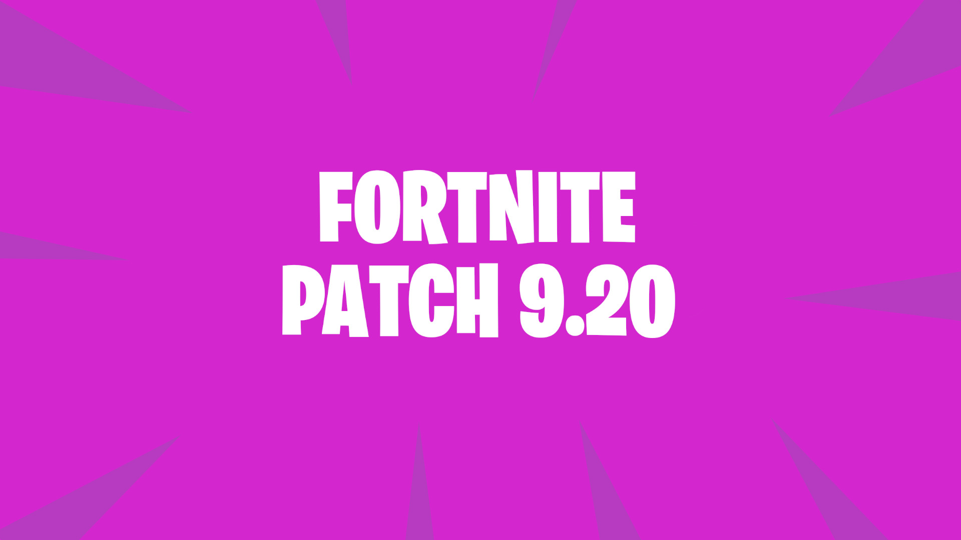 Photo of Fortnite patch 9.20 downtime starts tomorrow at 4 AM ET
