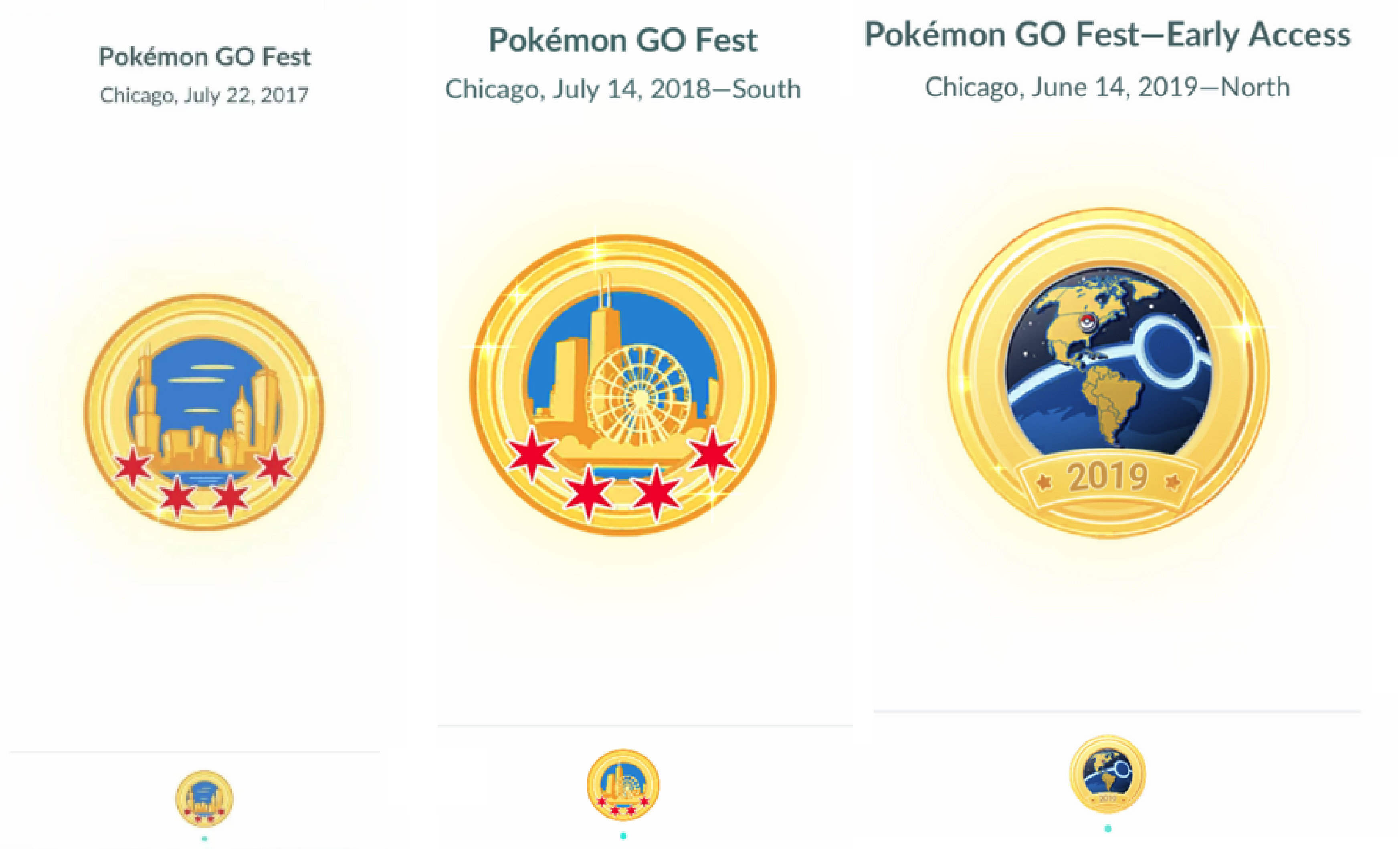 Photo of Pokemon Go Chicago GoFest 2019 Badge First Look