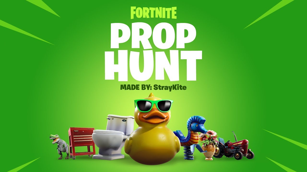 Photo of Straykite's Prop Hunt (Hide and Seek) is now available in Fortnite