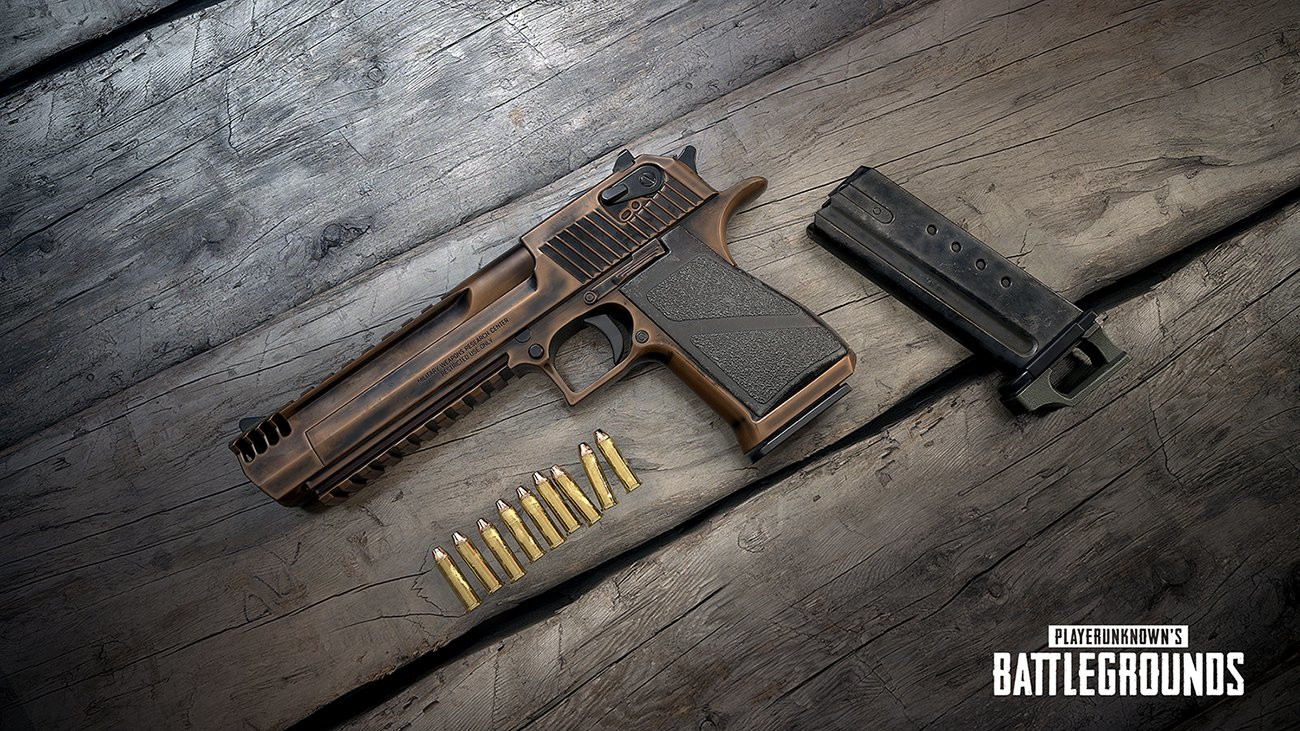 Photo of PUBG Patch 30 adds a high Damage Deagle, currently available on the Public Test Server
