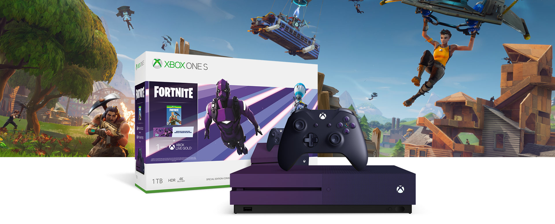 Photo of Xbox One S Fortnite Battle Royale Special Edition Bundle Coming June 7