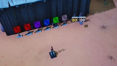 Photo of Fortbyte #28 Location – Accessible by solving a puzzle outside a desert Junkyard