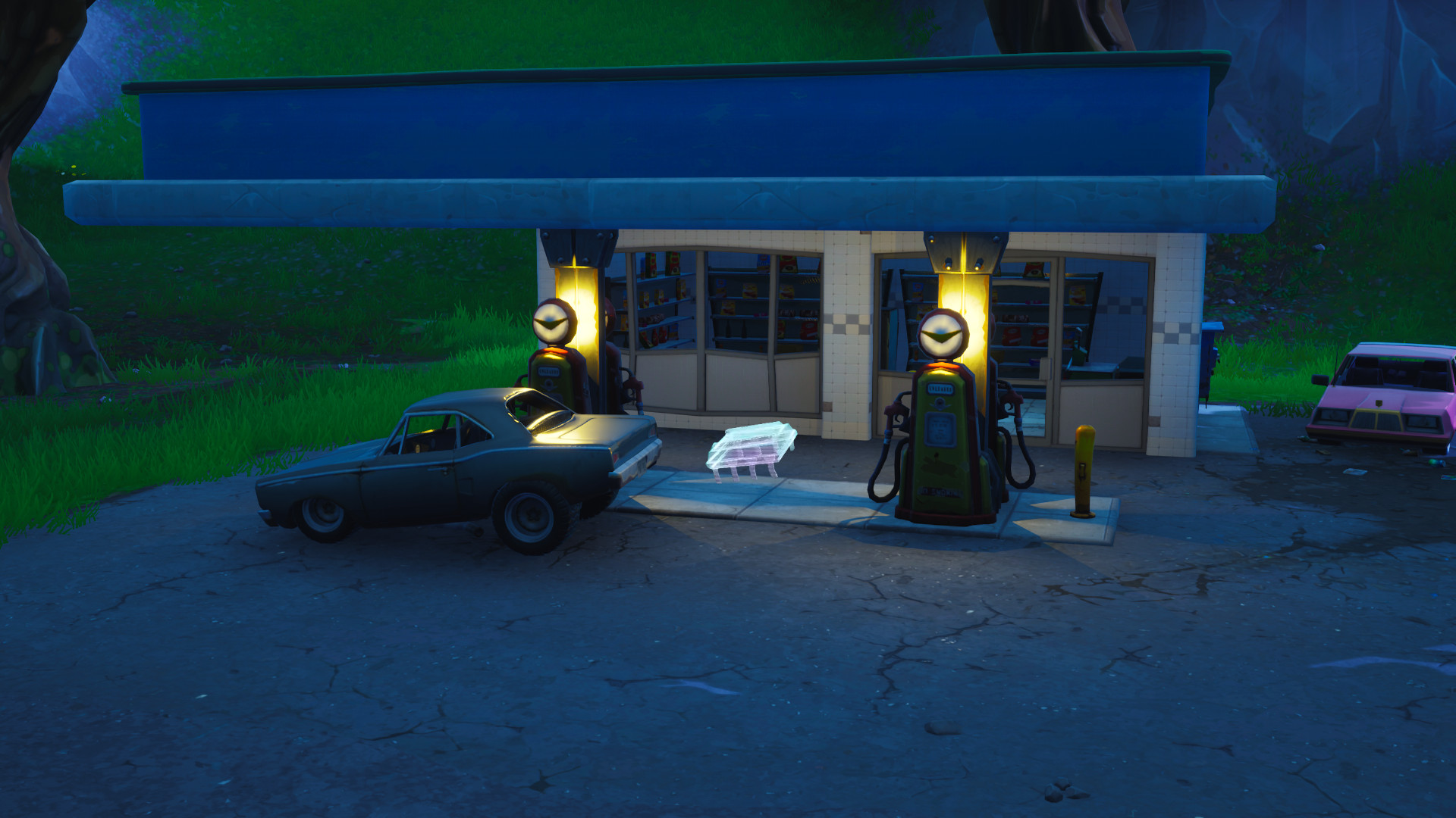 Photo of Fortnite Fortbyte #63 location, Found somewhere between Lucky Landing and Fatal Fields