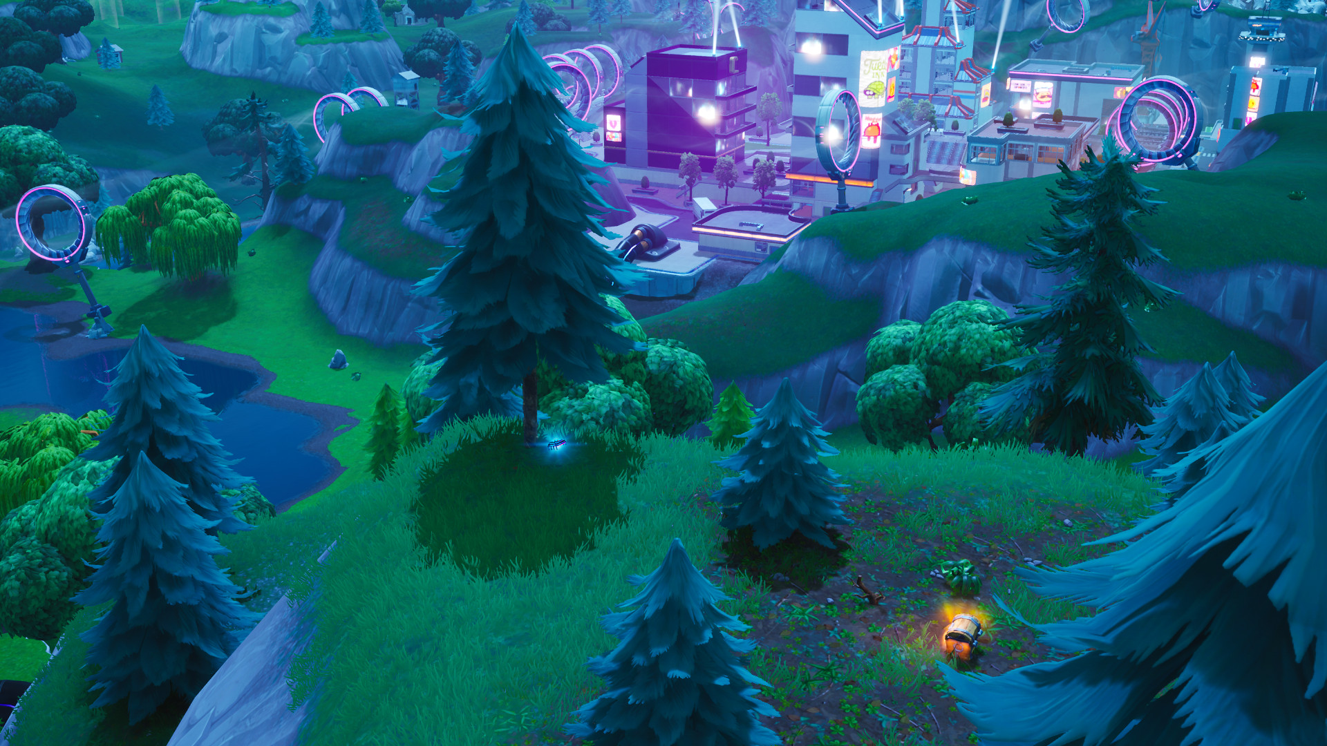 Fortnite Fortbyte 23 close look