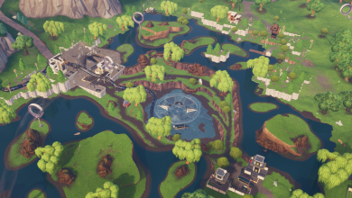 Fortnite Loot Lake 9 Fortbyte #4