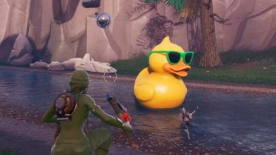 Photo of Where to Visit a Giant Beach Umbrella and a Huge Rubber Ducky in Fortnite?