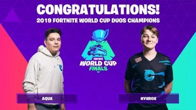 Photo of Nyhrox and Aqua are the Fortnite World Cup Duo Champions