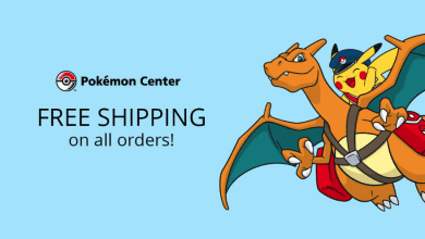 Photo of Pokemon Center Offers Free Shipping on Any Order Including Video Games