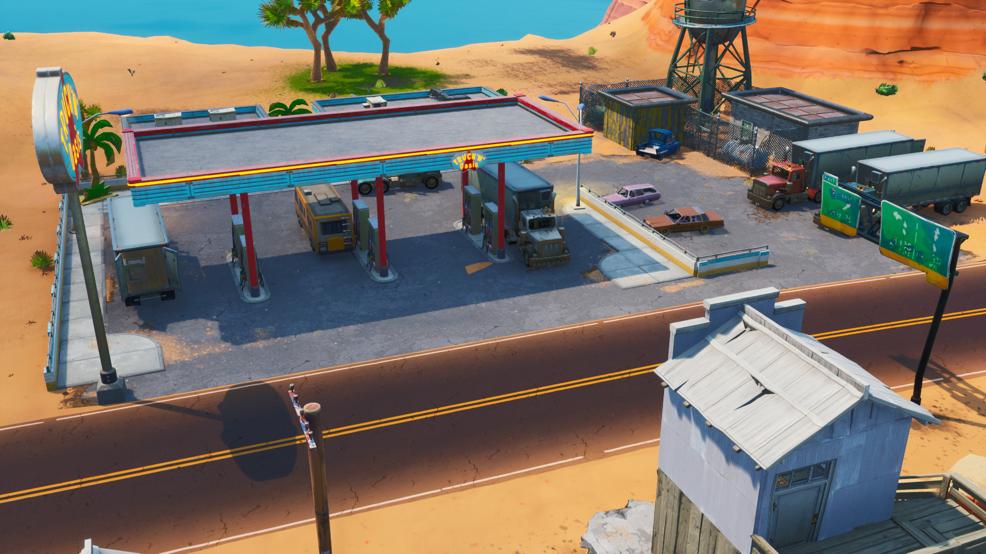 Where to Spray Different Gas Stations in Fortnite - All ...