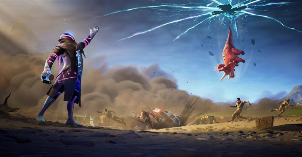 Fortnite Season X Week 4 Loading Screen