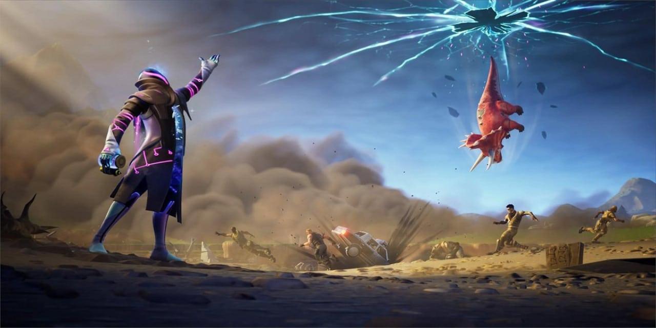 Fortnite Season X Week 4 Loading Screen