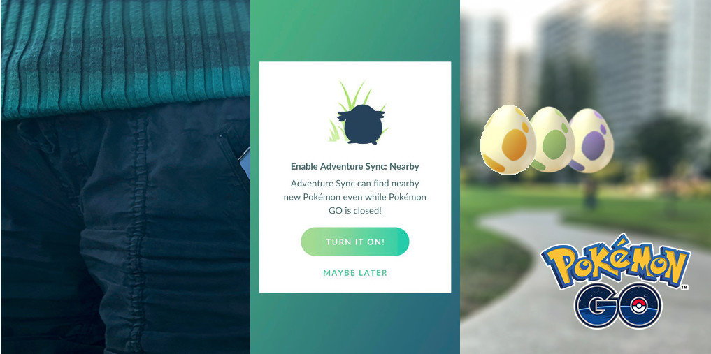 Pokemon Go Adventure Sync 2 0 Now Live in North America