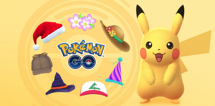 Pokemon Go Pikachu Wearing All Special Hat Event Announced